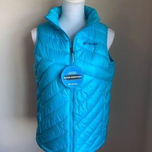 Columbia•Blue Puffer Jacket